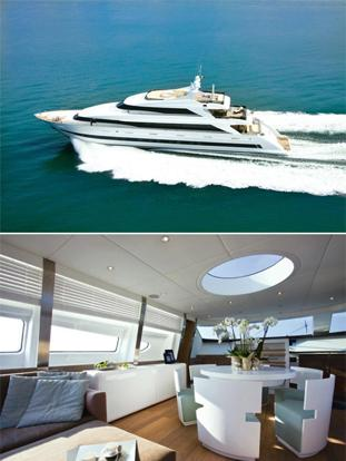 India ahoy! Yachts are a growing market in India; the cost of a basic 30m yacht starts from $4 million and can go up to $20 million. Photographs courtesy Emilio Bianchi