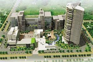 New trend: An artist's rendering of Millennium Spire's commercial project in Manesar, Gurgaon. The firm is offering to pay rent to investors for up to three years after handing over the properties.