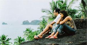 Two's not company: Bashir and Mridul play the stressed couple in The Great Indian Butterfly.