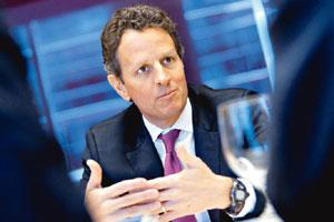 Exercising caution: US treasury secretary Timothy Geithner. Analysts say the delay could be a politically smart thing to do with Hu Jintao planning to be in Washington for talks with President Barack