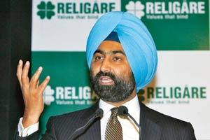 Top-level shuffle: Malvinder Mohan Singh, who stepped down as the chairman of Religare Enterprises, will focus on the healthcare segment. B.Mathur/Reuters