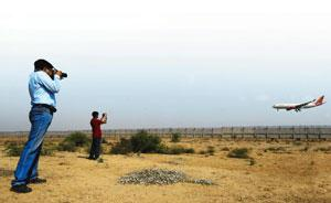Shoot at site: Sankalp Sinha and Mayank Khanna (in red) have earmarked spotting locations along NH8.