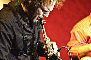 All that jazz: Maarten Visser plays at Rhapsody on Saturday.