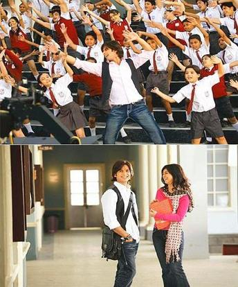 Book basics: Shahid Kapoor plays a teacher and Ayesha Takia a nutritionist in Milind Ukey's Paathshaala play teachers in a school where every incident becomes a battle between good and evil.