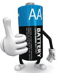 Staying alive:Charge the battery, use it up com-pletely, and then recharge to increase battery life.