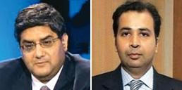 Increased volatility: Nomura Financial Advisory's Pankaj Vaish (left) and Franklin Templeton Investments' R. Sukumar.