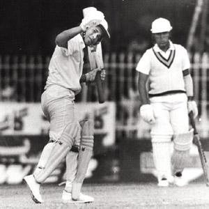 Human capital: Sachin Tendulkar scores his first 50 in his debut series in Pakistan, in only his second Test match. Like Sunil Gavaskar, Tendulkar is an iconic example of a cricketer who was blooded,