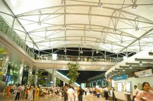 Waiting game: The Hyderabad international airport. The management had been expected to announce a replacement for Nuance by 7 May, but the process was delayed after potential bidders raised several is  (The Hyderabad international airport. The management had been expected to announce a replacement for Nuance by 7 May, but the process was delayed after potential bidders raised several is)