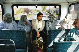Other-worldly: The ghost entourage in Chadha's movie adds a comical, supernatural twist to the story.