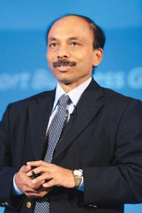 Still waiting: TCS chief technology officer Ananth Krishnan.
