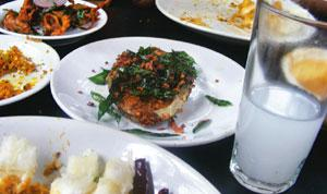 Fish and toddy, as staple as it gets. Samanth Subramanian/Mint