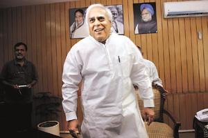 Reforming India: A file photo of Union HRD minister Kapil Sibal. Sunil Saxena / HT