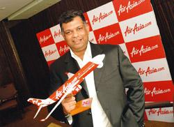Spreading wings: AirAsia chief executive officer Tony Fernandes. Ashesh Shah/Mint