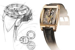 Icons: The Admiral's Cup (left) and Golden Bridges are currently the most popular lines for Corum. Images courtesy Corum