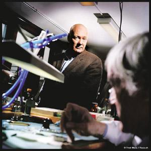 People person: Jean-Claude Biver works closely with his watchmakers and watch marketeers. Photograph courtesy Hublot