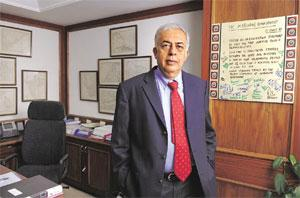 New horizons: M&M's Hemant Luthra says the firm is in talks with an original equipment manufacturer for technology to build part of tail, landing gear bay and wings under the defence offset option