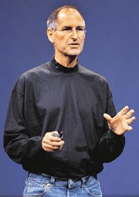 In spotlight: Steve Jobs says Foxconn's factory is not a sweatshop. Bloomberg