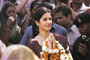 Screen idol: Kaif's character, says Jha, is not based on Sonia Gandhi.