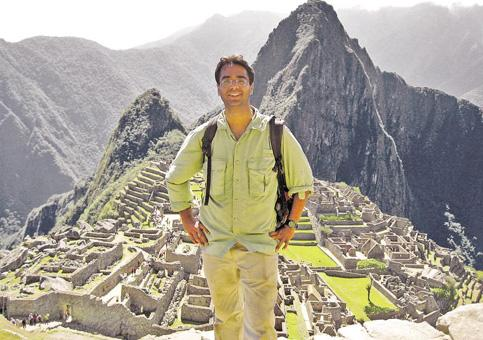 Peripatetic: Bajaj's inspiration came from his experiences in the year he went backpacking.