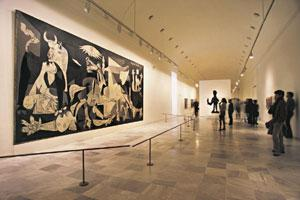 Made-to-order: Picasso's Guernica at Madrid's Reina Sofia is a must for art lovers. Hubert Paul