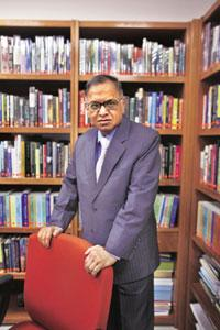 Resonant' leader: N.R. Narayana Murthy is a leader who cares. Akshay Mahajan/Mint