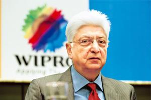 Choices galore: Azim Premji has several options to meet the new ruling, of which selling a part of his stake in Wipro seems the most likely. Hemant Mishra / Mint