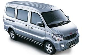 Cost-effective: The Sunshine minivan is a best-seller in China.