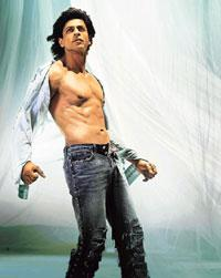 The six-pack phenomenon in India took off after Shah Rukh Khan's Dard-e-Disco