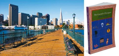 City of dreams: Wing Commander Brahme's love story is set in San Francisco, where his daughter lives. Thinkstock. (Right) The Counsel of Strangers: Omo Books, 169 pages, Rs250.