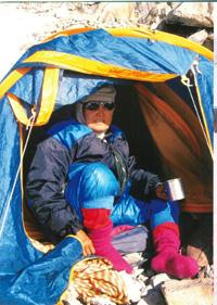Superwoman: Aitwal is one of three women to have ascended Nanda Devi. Courtesy Indian Mountaineering Foundation