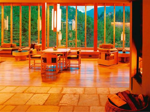 Air supply: At the Paro Lodge, the mountain air and asanas will rejuvenate tired and jaded city folk.