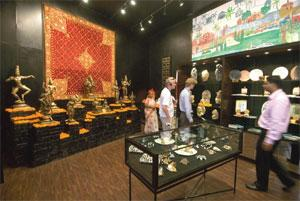 Bouquets and bric-a-bac: The Museum Shop at the National Museum. Ankit Agrawal/Mint