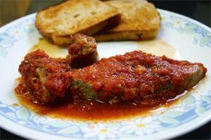 Wonder gravy: The trick is to use fresh tomatoes, always, and fresh spices and herbs. This fish takes only a teaspoon of olive oil. Samar Halarnkar