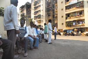 Homecoming: Slum dwellers have been resettled in Sangharsh Nagar Colony, Powai. Abhijit Bhatlekar/Mint