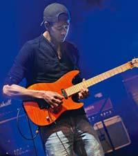Strumming it: Fusion guitarist Greg Howe