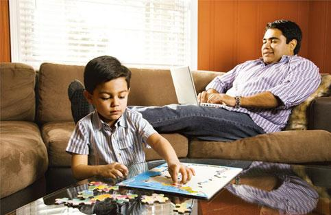 Look at me: It's normal for your child to seek some attention. so long as he doesn't hog it. Thinkstock