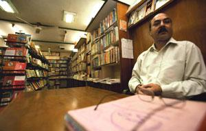 A new chapter: Caretaker Rishav behind the counter. Javeed Shah/Mint
