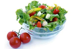 Rainbow diet: Eat fruits and vegetables in different colours.