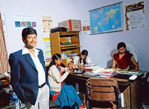 Staying upbeat: Sahil runs a support group to help others like him. Pradeep Gaur/Mint photo