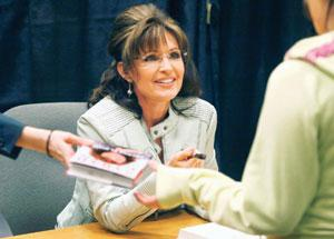 Gender bender: US politician Sarah Palin.