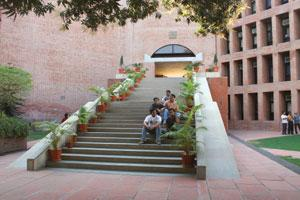 Hall of fame: The Louis Kahn- designed IIM-A campus is iconic. Ramesh Dave / Mint