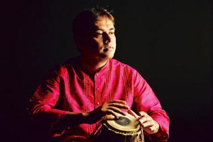Beat it: Tabla player Sandeep Das is a nominee for the 53rd Grammy awards. Todd Rosenberg