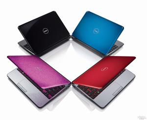 Dell Inspiron M101z notebook family. Photo: Lee Kirgan
