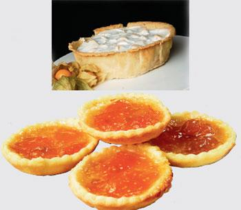 Culinary capers: (below) The gooseberry meringue pie; and jam tarts. Priyanka Parashar/Mint