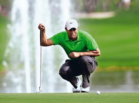 Talking Tiger: Woods returns to the Match Play Championship as the man to watch. Photo Reuters