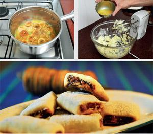 Care a fig? (clockwise from below, left) Cooking figs in orange juice adds a citrusy zest; add the eggs last while making the pastry; and fig rolls are perfect with a steaming cuppa. Pradeep Gaur/Mint