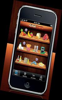 Sizzling: The Cookmate iPhone app.