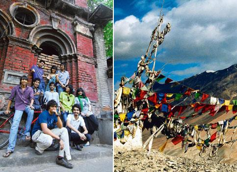 Sing for a cause: Members of Magic Wallrush (Indranil Bhoumik/Mint); and Ladakh (Rudraneil Sengupta/Mint).