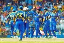 Teamwork: Sri Lanka have become a highly competitive side not just in ODIs but in Tests too.