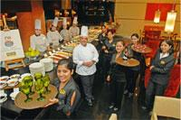 Star chef: Madhu Krishnan of ITC, adjudged best by the Food Lovers of Bangalore.